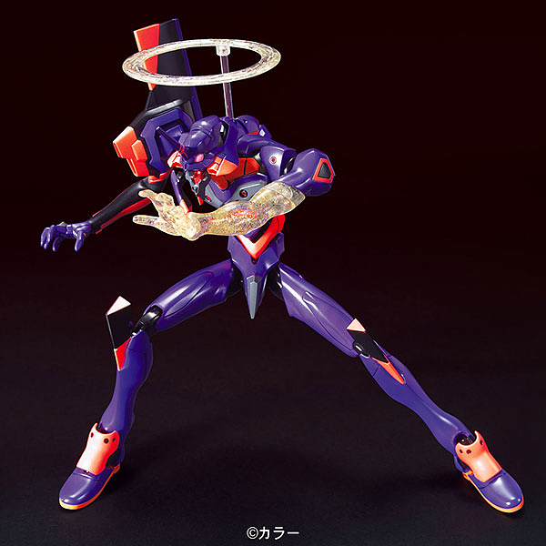 Bandai HG Evangelion 01 Movie Awakening Version action pose