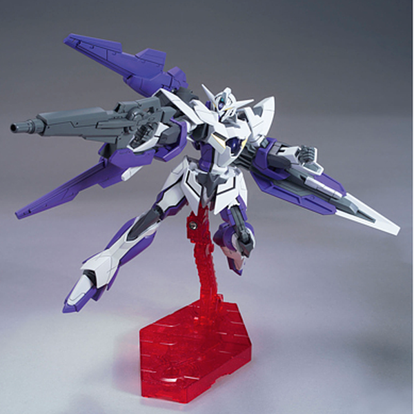 Bandai 1/144 HG00 1.5 Gundam action pose 1