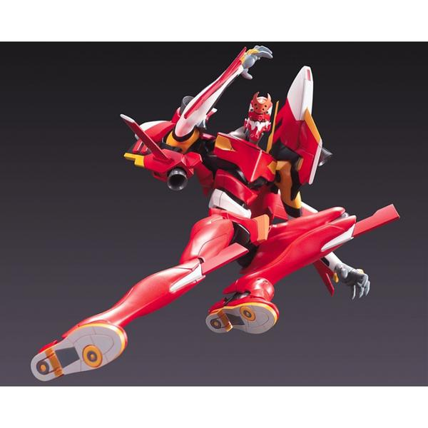 Bandai HG Eva-02 Evangelion 02 Version action pose 2