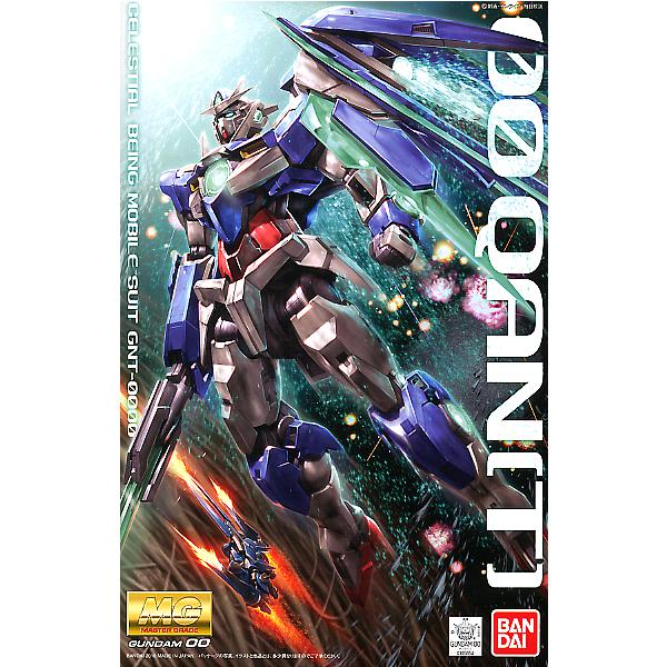 Bandai 1/100 MG 00 Qan[T] package art
