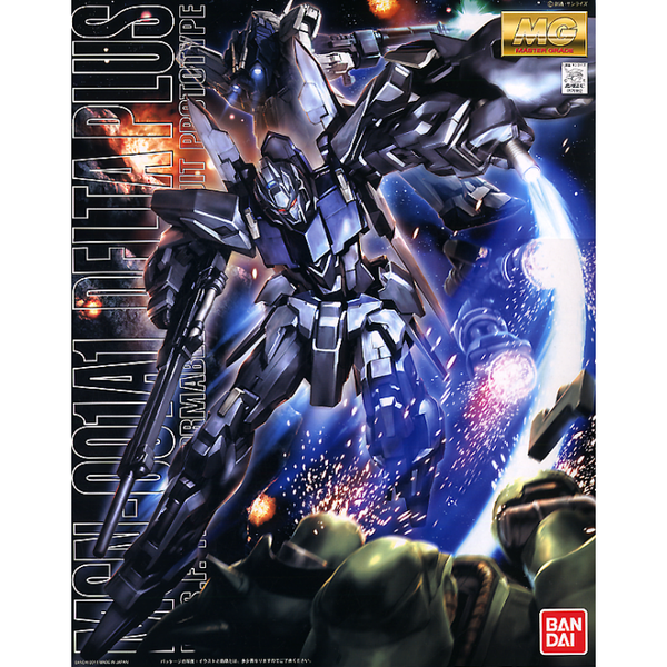 Bandai 1/100 MG MSN-001A1 Delta Plus package artwork