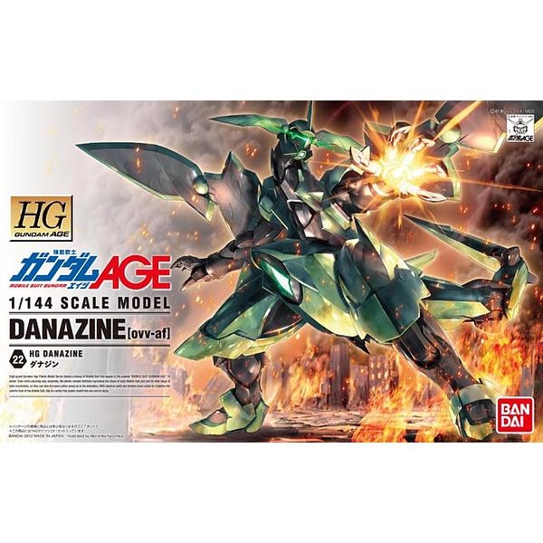 Bandai 1/144 HG Danazine package artwork