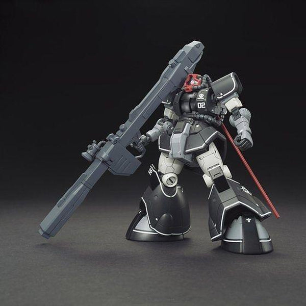 Bandai 1/144 HG YMS-08B Dom Test Type Prototype Mobile Suit front on view.