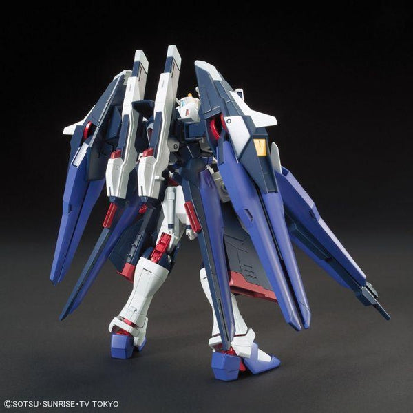 Bandai 1/144 HGBF Amazing Strike Freedom Gundam rear view