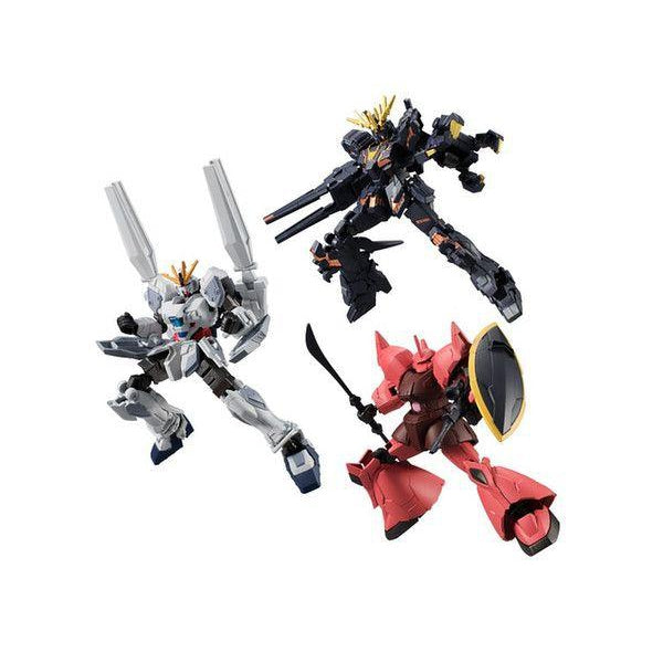 Bandai Mobile Suit Gundam: G Frame Vol 4 -3 figures this series