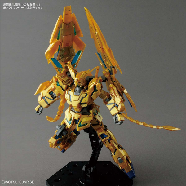 Bandai 1/144 HG Gundam Unicorn Phenex (NT Ver.) action pose