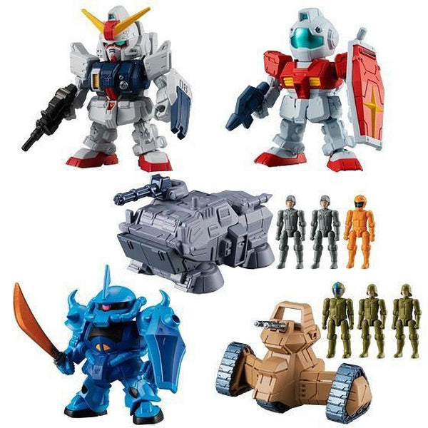 Bandai Mobile Suit Gundam Micro Wars Vol.2 - Gashapon/Trading Figure