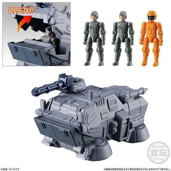 Bandai Mobile Suit Gundam Micro Wars Vol.2 - hover truck and pilots