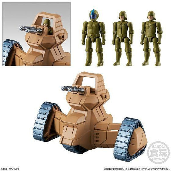 Bandai Mobile Suit Gundam Micro Wars Vol.2 - cui troop transport tank and pilots