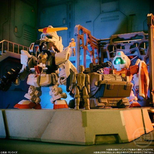 Bandai Mobile Suit Gundam Micro Wars Vol.2 create a diorama