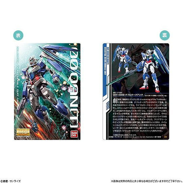 Gundam Package Art Collection Vol.3 sample card front and back