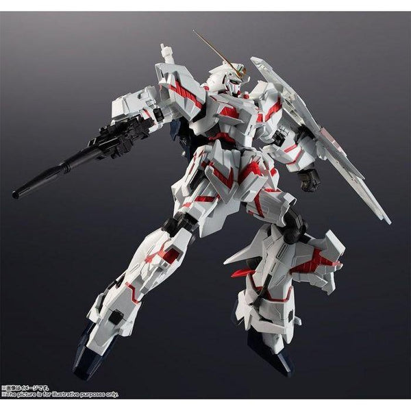 Bandai GU RX-0 Unicorn Gundam action pose