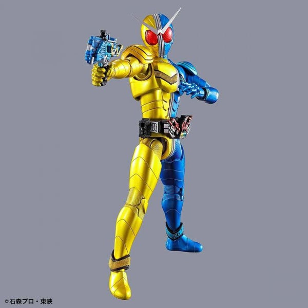 Bandai Figure Rise Standard Kamen Rider Double Luna Trigger action pose with weapon.  2