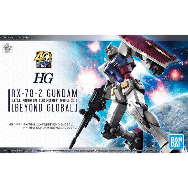Bandai 1/144 HG RX-78-2 Gundam (Beyond Global) package artwork