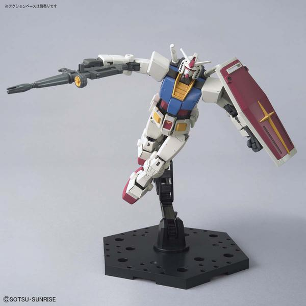 Bandai 1/144 HG RX-78-2 Gundam (Beyond Global) action pose 1