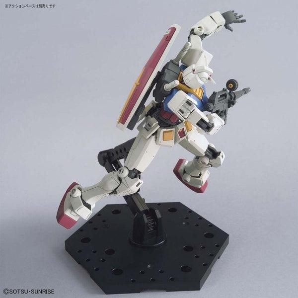 Bandai 1/144 HG RX-78-2 Gundam (Beyond Global) action pose 2