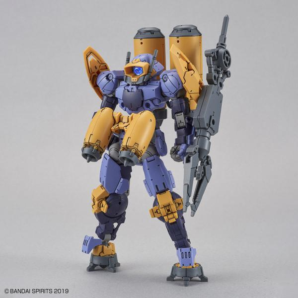 Bandai 1/144 NG 30MM BEXM-15 Portanova [Marine Type] (Purple) with backpack