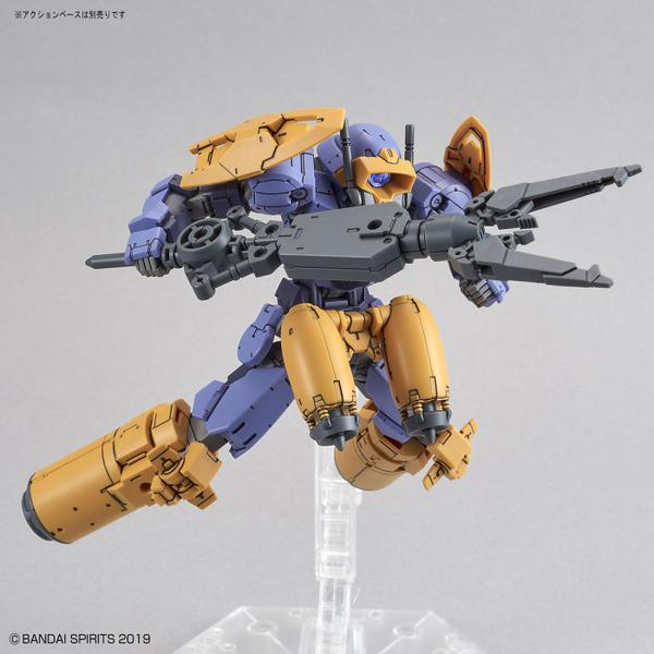 Bandai 1/144 NG 30MM BEXM-15 Portanova [Marine Type] (Purple) with anchor claw