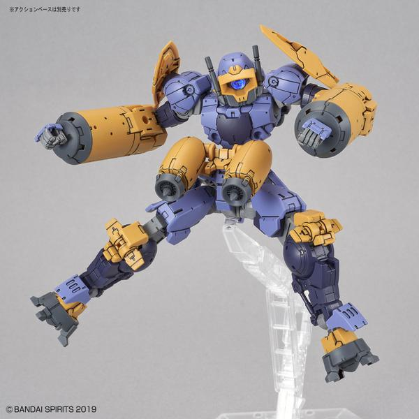 Bandai 1/144 NG 30MM BEXM-15 Portanova [Marine Type] (Purple) action pose