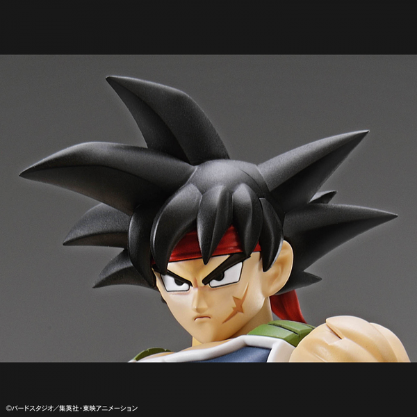 Bandai Figure Rise Standard Bardock head close up