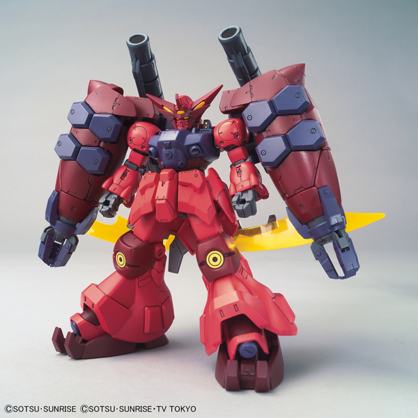 Bandai 1/144 HGBD:R Gundam GP-Rase-Two-Ten front on view.