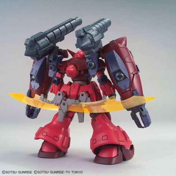 Bandai 1/144 HGBD:R Gundam GP-Rase-Two-Ten rear view.