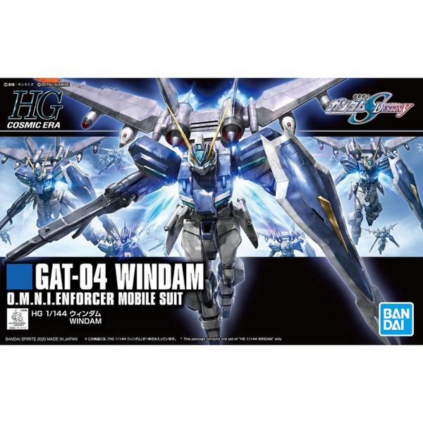Bandai 1/144 HGCE Windam package artwork