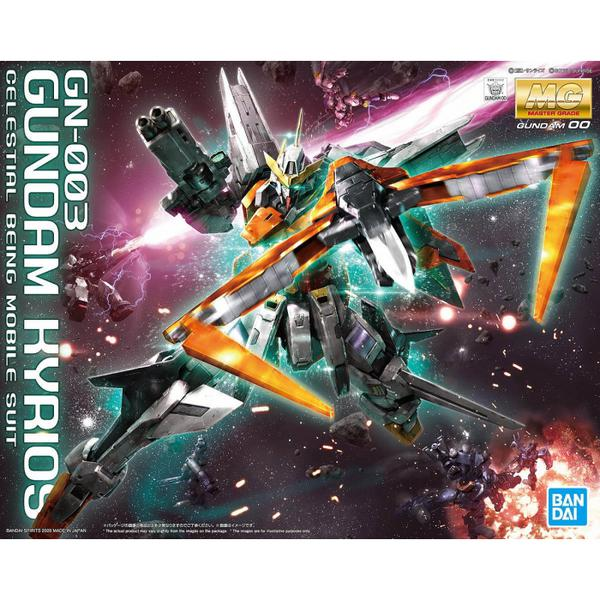 Bandai 1/100 MG GN-003 Gundam Kyrios package artwork