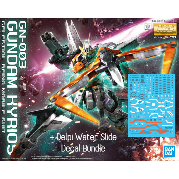 Bandai 1/144 RG RX-93 Nu Gundam + Fin Effects + Delpi Water Slide Decal Bundle