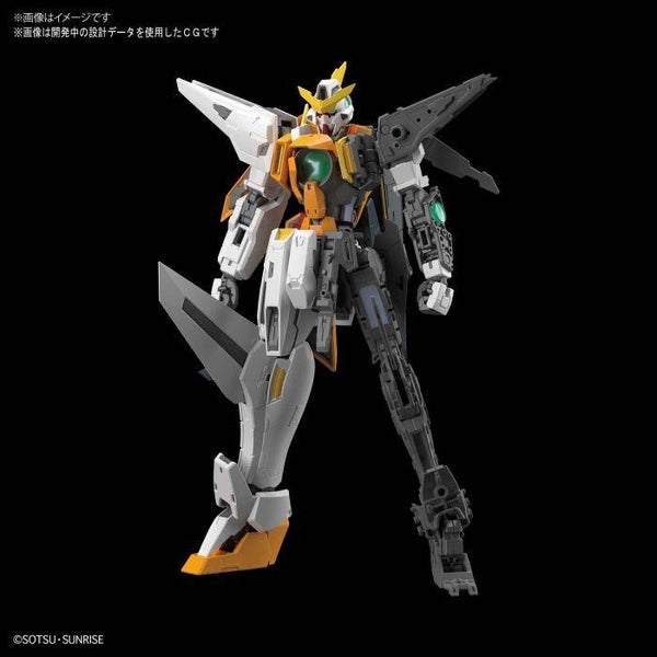 Bandai 1/100 MG GN-003 Gundam Kyrios inner frame exposed