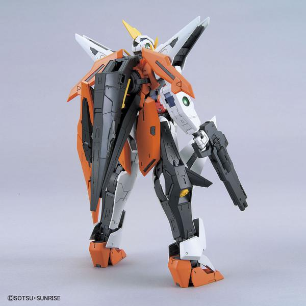 Bandai 1/100 MG GN-003 Gundam Kyrios rear view.