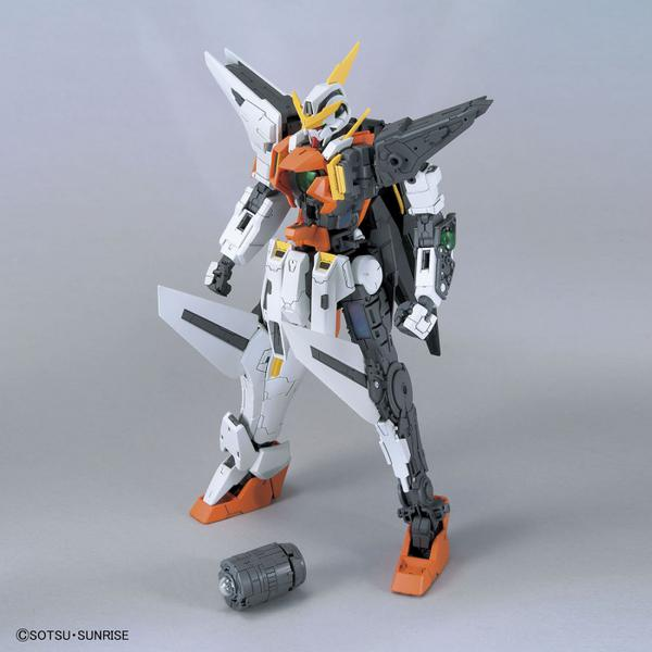 Bandai 1/100 MG GN-003 Gundam Kyrios leg fins and energy core