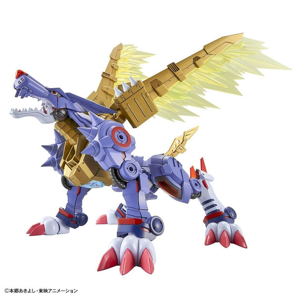 Bandai Figure Rise Standard Metalgarurumon  action pose 1