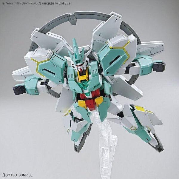 Bandai 1/144 HGBD:R Nepteight Weapons example use 1