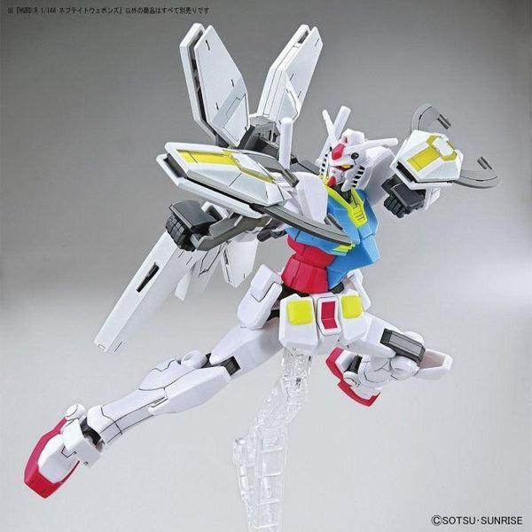 Bandai 1/144 HGBD:R Nepteight Weapons example use 2