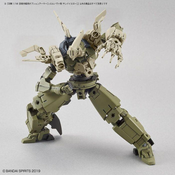 Bandai 1/144 NG 30MM Option Armour for Defense Operations (Sand Yellow) example use 2