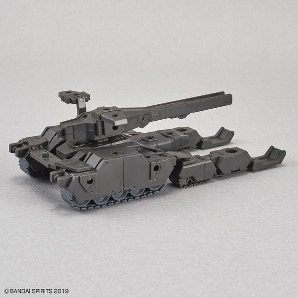 Bandai 1/144 NG 30MM EXA Vehicle (Tank Ver.) [Olive Drab] action pose with weapon.
