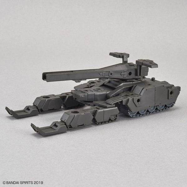 Bandai 1/144 NG 30MM EXA Vehicle (Tank Ver.) [Olive Drab] front on view. 2