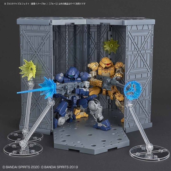 Bandai 1/144 30MM Customise Effect (Gunfire Image Ver. Blue) example use 4