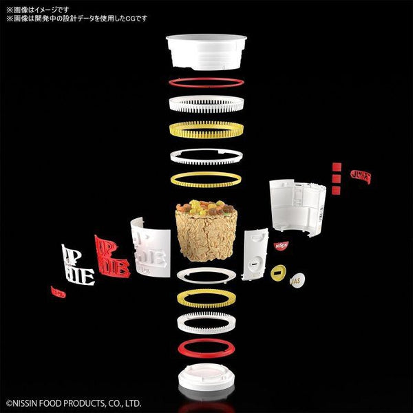Bandai 1/1 Best Hit Chronicle Cup Noodles assembly detail