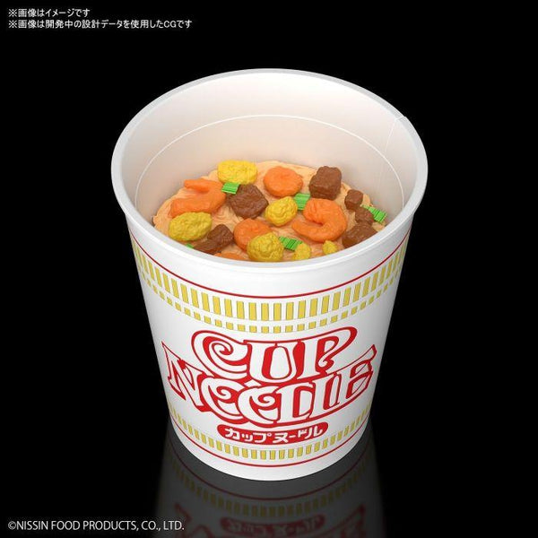 Bandai 1/1 Best Hit Chronicle Cup Noodles black background