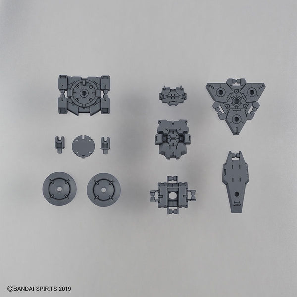 Bandai 1/144 NG 30MM eEXM-21 Option Armour for Spy Drone Rabiot Exclusive (Light Grey) inclusions