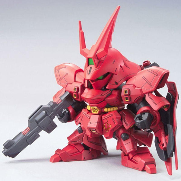 Bandai 1/144 BB382 Sazabi front on pose