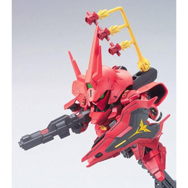 Bandai 1/144 BB382 Sazabi action pose 2