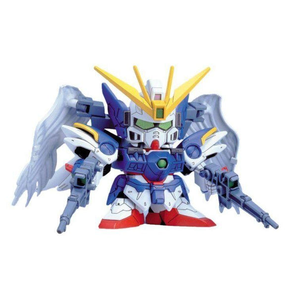 Bandai BB203 XXXG-00W0 Wing Gundam Zero Custom front on pose
