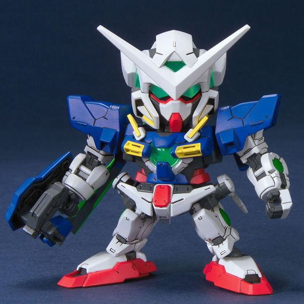 Bandai 1/144 BB 313 Gundam Exia front on pose