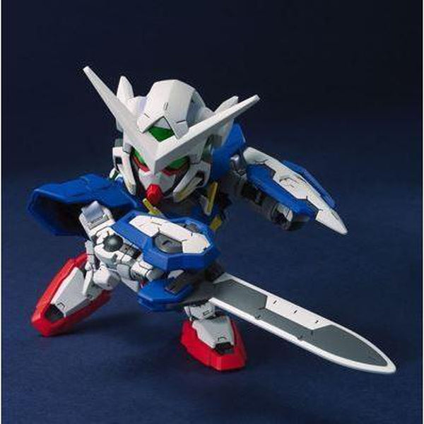 Bandai 1/144 BB 313 Gundam Exia action pose