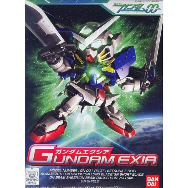 Bandai 1/144 BB 313 Gundam Exia package artwork