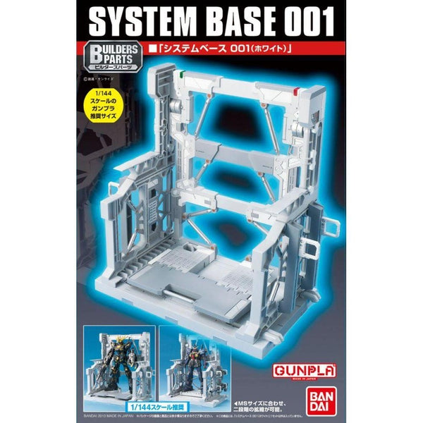 Bandai 1/144 System Base 001 White package art