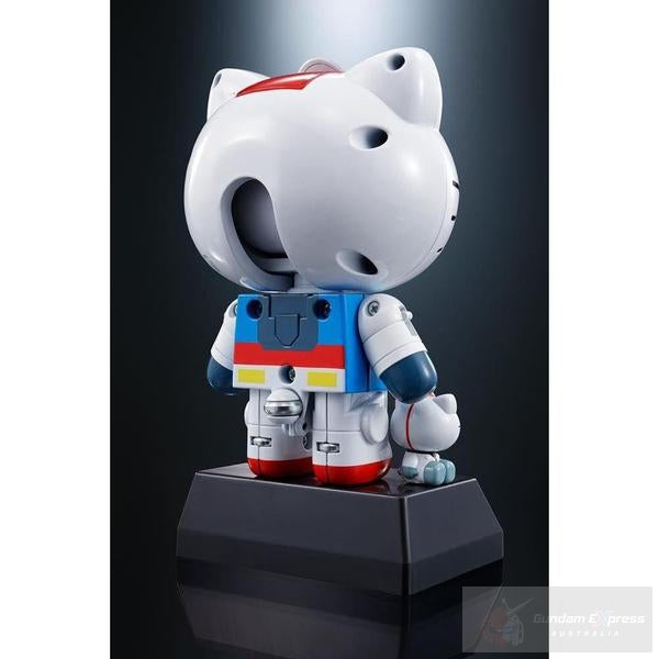 Chogokin Gundam RX-78-2 Hello Kitty rear view.